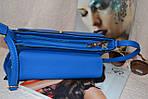 Синяя женская сумка, фото 2