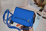 Синяя женская сумка, фото 5