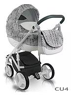 Детская универсальная коляска BEXA CUBE OPT-S-QS7345 (Алюминиевая рама делает конструкцию легкой и маневренной,гелевые колеса со специальной подвеской
