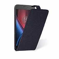 Чехол флип Liberty для Motorola Moto G4 (4th Gen) Чёрный