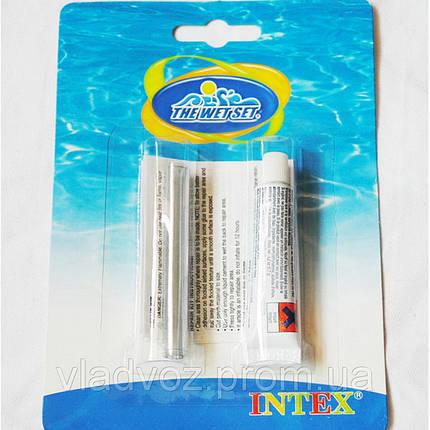 Ремкомплект клей Intex 59632 для ремонта надувных бассейнов, матрасов, фото 2