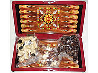 Набор 3-в-1: шахматы, шашки, нарды I5-28, деревянные шахматы шашки нарды