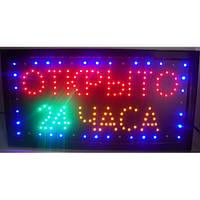 """Светодиодная led табличка """"Открыто 24 часа"""", светодиодный экран вывеска, рекламная светодиодная вывеска"""