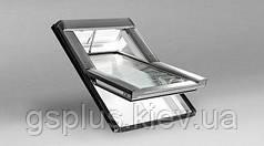 Пластиковое мансардное окно Roto R4 540mm x 980mm