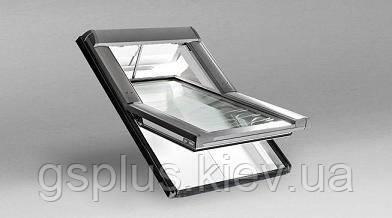 Пластиковое мансардное окно Roto R4 540mm x 1180mm, фото 2