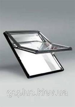 Пластиковое мансардное окно Roto R7 540mm x 780mm, фото 2
