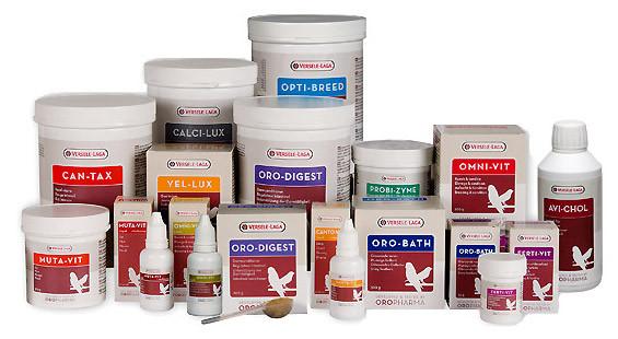 Versele-Laga - витамины и пищевые добавки для попугаев и птиц