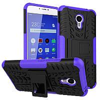 Чехол Meizu M3 Note Противоударный Бампер фиолетовый