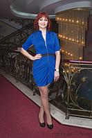 Яркое вечернее платье из французского трикотажа для самых красивых.