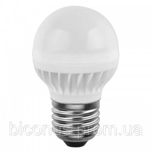 Светодиодная лампа Small Ball G45 LED-137 (7W), 5000K, E27  SVOYA