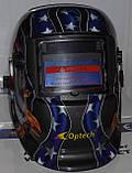 Маска сварщика Хамелеон OPTECH S777 A/C 4SE Орел(4- сенсора), фото 4