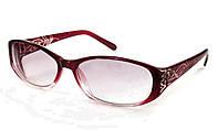 Очки женские для зрения с диоптриями +/- солнцезащитные Код:1005-2