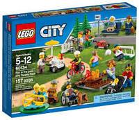 Конструктор  Lego City Развлечения в парке для жителей города 60134
