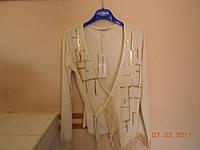 Нарядная  блуза с ассиметричным низом