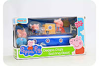 Детский игровой набор «Катер Свинки Пеппы» LQ912A, фото 1