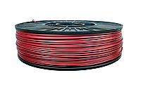 Нить ABS (АБС) пластик для 3D принтера, 1.75 мм, бордовый