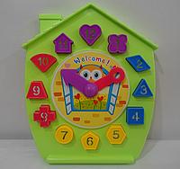 Развивающая игрушка Сортер - Часы
