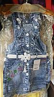 Сарафан джинсовый для девочки 2-5 лет Турция