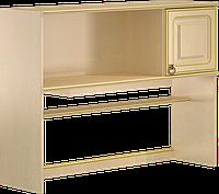 Стол компьютерный, с надставкой, выдвижными ящиками, полочкой под клавиатуру разм 174х120х120см Флоренция