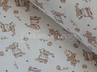 Ткань трикотажная стрейч-кулир веселый бычок