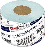 PRO service Бумага туалетная макулатурная OPTIMUM CLEAN 1сл. 100м