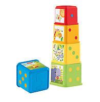 Пирамидка Fisher-Price Stack and Explore Blocks