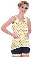 Комплект одежды жен. SMILE желтый XXL