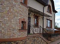 Декоративная облицовка фасада натуральным камнем