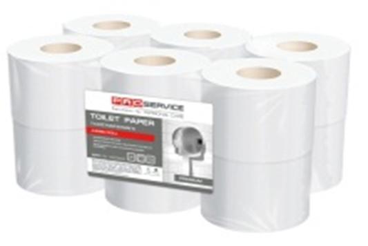 PRO service туалетная бумага целлюлозная, 2 слоя, 120 м
