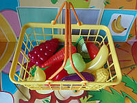 Набор корзина с овощами супермаркет