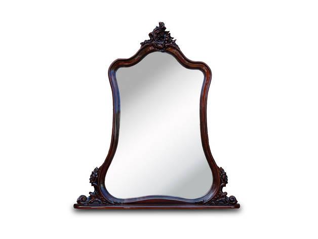 "Зеркало в деревянной оправе ""Груша"". (110х115 см), фото 2"