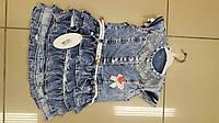 Сарафан, джинсовое платье для девочки 2-5 лет Турция