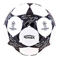Мяч футбольный DXN RONEX FINALE2 BLACK/SILVER