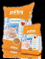 Клуб 4 лапы Plus PH Control корм для кошек, профилактика мочекаменной болезни, 11 кг