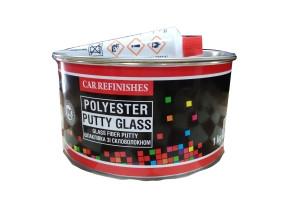 Шпатлёвка CS System Glass со стекловолокном 1 кг