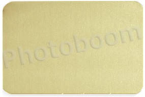 Металлическая пластина для сублимации, золото глянец