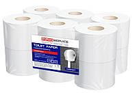 PROservice Premium Папір туалетний целюл. 2-х шар 120 м з краєвим тисненням 12  рул (1уп/ящ)