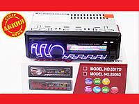Автомагнитола Pioneer 8506D Usb + RGB подсветка + Fm + Aux + СЪЕМНАЯ ПАНЕЛЬ, фото 1