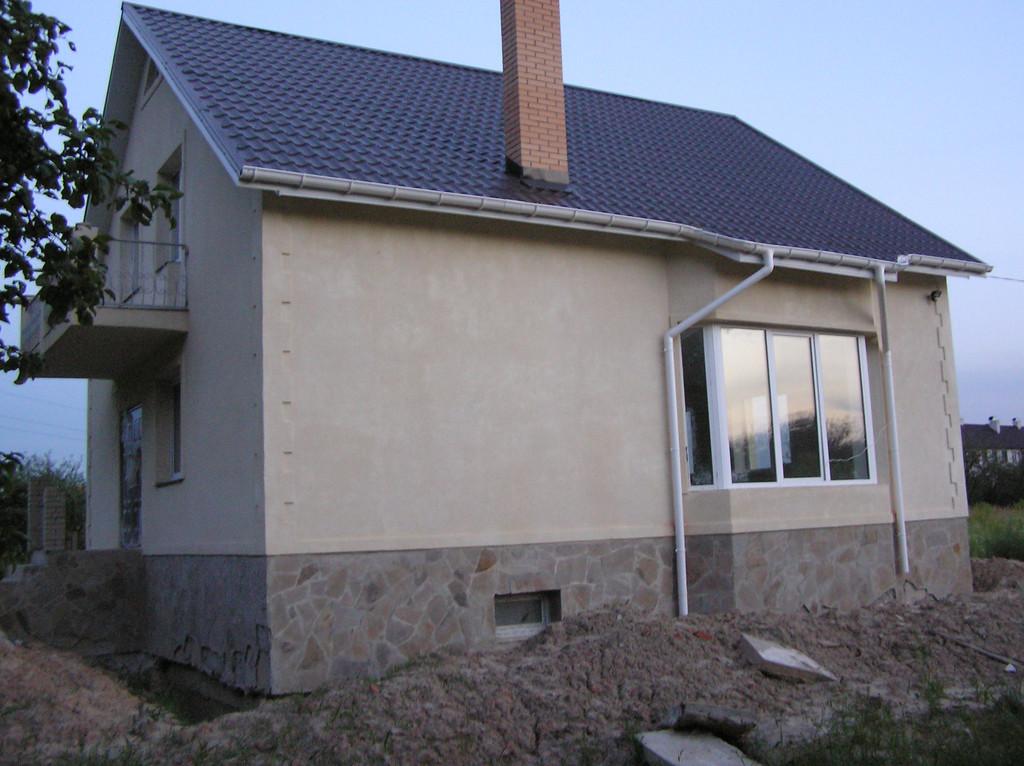 Дом из красного строительного кирпича 4