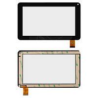 Touchscreen (сенсорный экран) для Modecom FreeTab 2069, 30 pin, оригинал (черный)