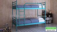 Кровать металлическая  Флай Дуо / Fly Duo двухъярусная 90 (Метакам) 960х2080х1730 мм