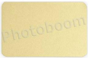 Металлическая пластина для сублимации, золото матовое