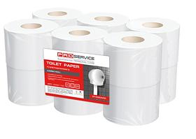 PROservice Standard Папір туалетнийбілий одношаровий 160 м, 1067 л. 12 рул. (1уп/ящ)