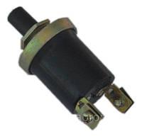 Кнопка пуска (черная) (12 V 24V  3 А5 А (ВК 322)