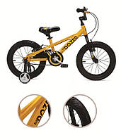 "Велосипед 16"" RoyalBaby BullDozer желтый"