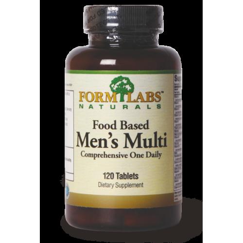 FORM LABS Naturals Food Based Men's Multi 60 tab.