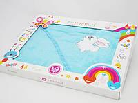 """Детское полотенце уголок для купания PHILIPPUS """"Зайчик"""""""