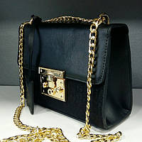 Женский клатч сумочка Gucci Гучи черная
