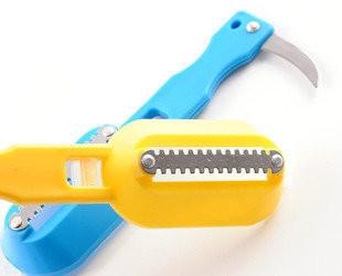 Нож для чистки рыбы yellow (желтый)
