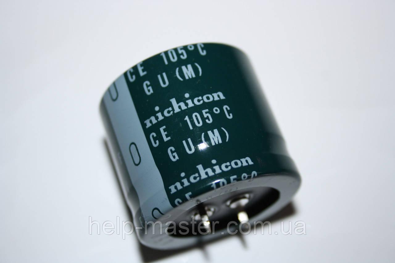 270мкф-450v; (105°C) GU 35*30 Nichicon